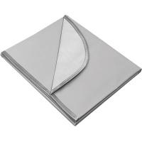 Клеенка для труда 35x50см, водоотталкивающая ткань, серая 7044900